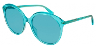 Sunglasses - Gucci - GG0257S - 003 LIGHT BLUE // LIGHT BLUE