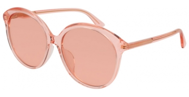Sunglasses - Gucci - GG0257S - 006 ORANGE / RED