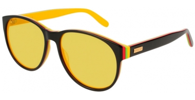 Gafas de Sol - Gucci - GG0271S - 005 BLACK // YELLOW