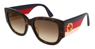 Gafas de Sol - Gucci - GG0276S - 002 DARK HAVANA MULTICOLOR // BROWN GRADIENT