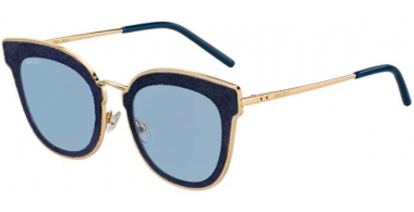 Sunglasses - Jimmy Choo - NILE/S - LKS (A9) GOLD BLUE // BLUE GREY ANTIREFLECTION