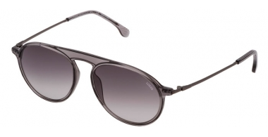 Sunglasses - Lozza - SL4206M  - 09MB  TRANSPARENT GREY // GREY GRADIENT