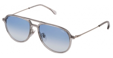 Sunglasses - Lozza - SL4209M  - 06S8  TRANSPARENT GREY // BLUE GRADIENT
