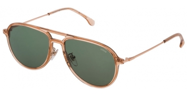 Sunglasses - Lozza - SL4209M  - 07T1  TRANSPARENT BEIGE // GREEN