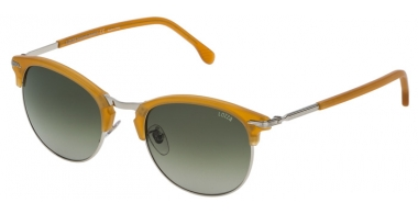 Sunglasses - Lozza - SL2293M COMO 6 - 579V YELLOW // GREEN GRADIENT GREY
