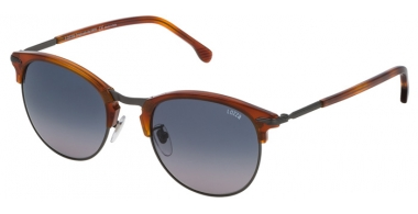 Sunglasses - Lozza - SL2293M COMO 6 - 627Y BROWN // BLUE GREY GRADIENT