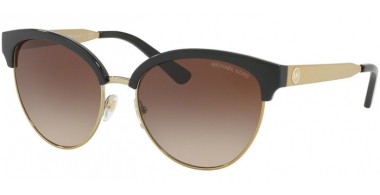 Sunglasses - Michael Kors - MK2057 AMALFI - 330513 BLACK GOLD TONE // SMOKE GRAIDENT