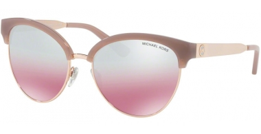 Sunglasses - Michael Kors - MK2057 AMALFI - 33097E MILKY PINK ROSE GOLD TONE // BLUSH SILVER FLASH