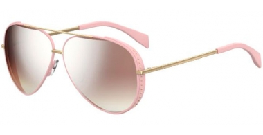 Sunglasses - Moschino - MOS007/S - 35J (53)  PINK // BROWN ROSE GRADIENT FLASH