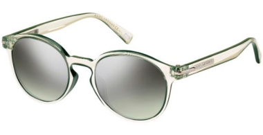 Sunglasses - Marc Jacobs - MARC 224/S - 0OX (GY) CRYSTAL GREEN // GREY GREEN GRADIENT SILVER MIRROR