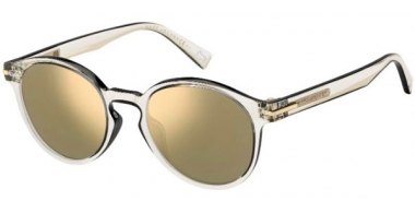 Sunglasses - Marc Jacobs - MARC 224/S - MNG (JO) CRYSTAL BLACK // GREY BRONZE MIRROR
