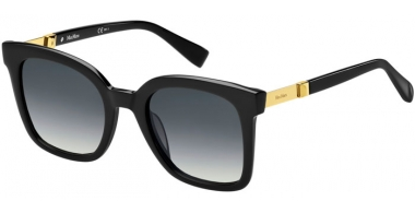 Sunglasses - MaxMara - MM GEMINI I - 807 (9O) BLACK // DARK GREY GRADIENT