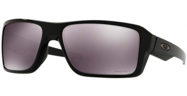Sunglasses - Oakley - DOUBLE EDGE OO9380 - 9380-15 POLISHED BLACK // PRIZM BLACK