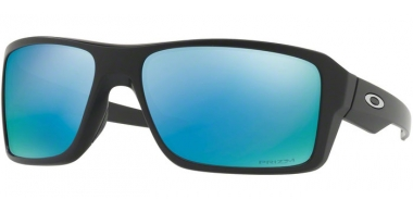 Sunglasses - Oakley - DOUBLE EDGE OO9380 - 9380-13 MATTE BLACK // PRIZM DEEP WATER POLARIZED