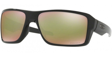 Sunglasses - Oakley - DOUBLE EDGE OO9380 - 9380-14 POLISHED BLACK // PRIZM SHALLOW WATER POLARIZED