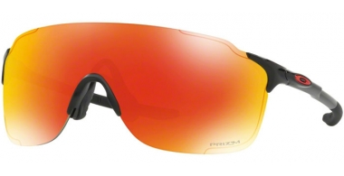 Sunglasses - Oakley - EVZERO STRIDE OO9386 - 9386-09 POLISHED BLACK // PRIZM RUBY