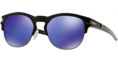 Gafas de Sol - Oakley - LATCH KEY OO9394 - 9394-02 MATTE BLACK // VIOLET IRIDIUM