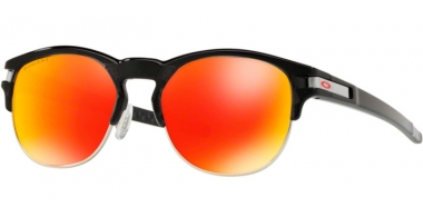 Gafas de Sol - Oakley - LATCH KEY OO9394 - 9394-04 POLISHED BLACK INK // PRIZM RUBY