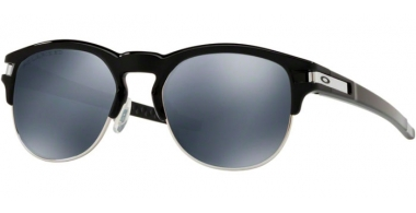 Gafas de Sol - Oakley - LATCH KEY OO9394 - 9394-06 POLISHED BLACK // BLACK IRIDIUM POLARIZED