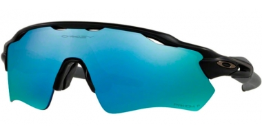 Sunglasses - Oakley - RADAR EV PATH OO9208 - 9208-55 MATTE BLACK // PRIZM DEEP H2O POLARIZED