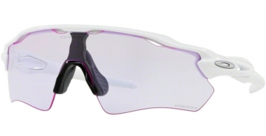 Sunglasses - Oakley - RADAR EV PATH OO9208 - 9208-65 POLISHED WHITE // PRIZM LOW LIGHT