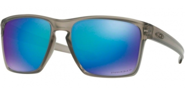 Sunglasses - Oakley - SLIVER XL OO9341 - 9341-18 MATTE GREY INK // PRIZM SAPPHIRE POLARIZED
