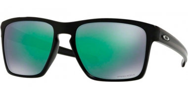 Sunglasses - Oakley - SLIVER XL OO9341 - 9341-19 POLISHED BLACK // PRIZM JADE