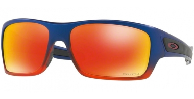 Sunglasses - Oakley - TURBINE OO9263 - 9263-44 BLUE ORANGE POP FADE // PRIZM RUBY