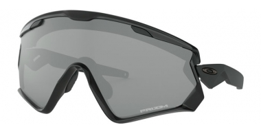 Gafas de Sol - Oakley - WIND JACKET 2.0 OO9418 - 9418-10 POLISHED BLACK // PRIZM BLACK