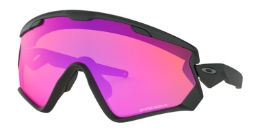 Gafas de Sol - Oakley - WIND JACKET 2.0 OO9418 - 9418-11 BLACK // PRIZM TRAIL
