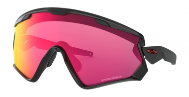 Gafas de Sol - Oakley - WIND JACKET 2.0 OO9418 - 9418-12 POLISHED BLACK // PRIZM ROAD