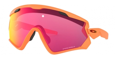 Gafas de Sol - Oakley - WIND JACKET 2.0 OO9418 - 9418-15 MATTE NEON ORANGE // PRIZM TRAIL