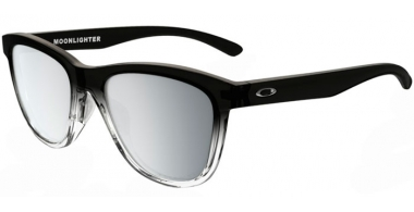 Gafas de Sol - Oakley - MOONLIGHTER OO9320 - 9320-07 DARK INK FADE // CHROME IRIDIUM POLARIZED