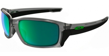 Gafas de Sol - Oakley - STRAIGHTLINK OO9331 - 9331-03 GREY INK // JADE IRIDIUM