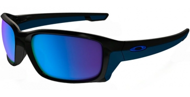 Gafas de Sol - Oakley - STRAIGHTLINK OO9331 - 9331-04 POLISHED BLACK // SAPPHIRE IRIDIUM