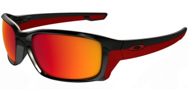 Gafas de Sol - Oakley - STRAIGHTLINK OO9331 - 9331-08 POLISHED BLACK // TORCH IRIDIUM POLARIZED