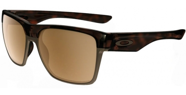 Gafas de Sol - Oakley - TWOFACE XL OO9350 - 9350-06 POLISHED BROWN TORTOISE // DARK BRONZE