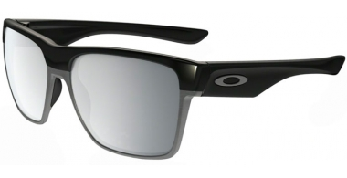 Gafas de Sol - Oakley - TWOFACE XL OO9350 - 9350-07 POLISHED BLACK // CHROME IRIDIUM