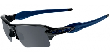 Gafas de Sol - Oakley - FLAK 2.0 XL OO9188 - 9188-44 POLISHED BLACK // BLACK IRIDIUM