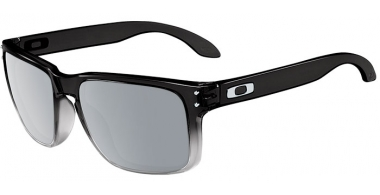 Gafas de Sol - Oakley - HOLBROOK OO9102 - 9102-A9 DARK INK FADE GREY // CHROME IRIDIUM POLARIZED