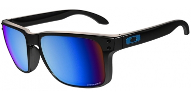 Gafas de Sol - Oakley - HOLBROOK OO9102 - 9102-C1 POLISHED BLACK // PRIZM DEEP H20 POLARIZED