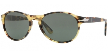 Sunglasses - Persol - PO2931S - 124/31 LIGHT HAVANA // CRYSTAL GREEN