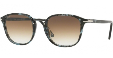 Gafas de Sol - Persol - PO3186S - 106251 SPOTTED BLUE DARK GREY // CLEAR GRADIENT BROWN