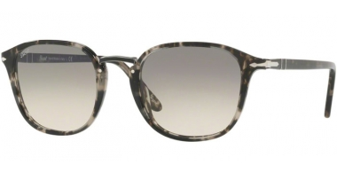 Gafas de Sol - Persol - PO3186S - 106332 SPOTTED GREY BLACK // CLEAR GRADIENT GREY