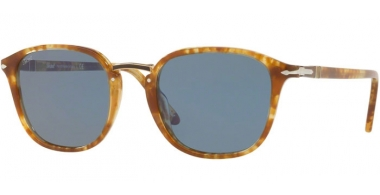 Gafas de Sol - Persol - PO3186S - 106456 SPOTTED BROWN BEIGE // LIGHT BLUE