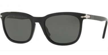 Sunglasses - Persol - PO3193S - 95/58 BLACK // GREEN POLARIZED