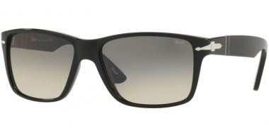 Sunglasses - Persol - PO3195S - 104132 BLACK // CLEAR GRDIENT GREY