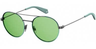 Sunglasses - Polaroid - PLD 6056/S - 1ED (UC) GREEN // GREEN POLARIZED