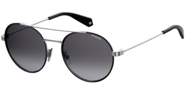 Sunglasses - Polaroid - PLD 6056/S - 284 (WJ) BLACK RUTHENIUM // GREY GRADIENT POLARIZED