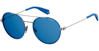 Sunglasses - Polaroid - PLD 6056/S - PJP (C3) BLUE // GREY POLARIZED